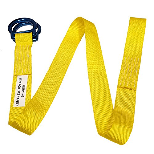 """Rock N Rescue RNR UTILITY DOUBLE """"D-RING"""" CINCH TIE DOWN STRAPS (4) by Rock N Rescue (Image #5)"""