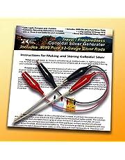 Maak Colloïdaal Zilveren Generator Machine Economy Combo Kit Inclusief .9999 Procent Pure 12-Gauge Draad