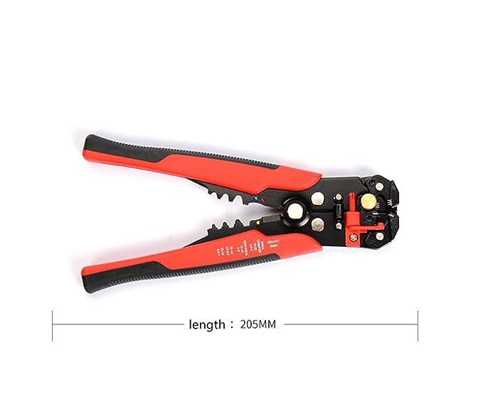 Handwerkzeuge Streng Handskit Kabel Draht Stripper Cutter Crimper Automatische Multifunktionale Werkzeug Terminal Crimpen Abisolieren Zange Werkzeuge