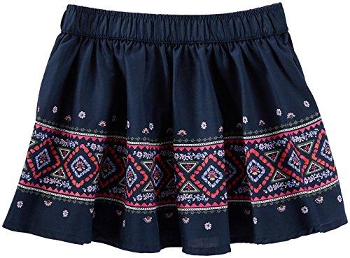OshKosh B'Gosh Girls' Woven Skirt 22018112, Blue, 3T Toddler -