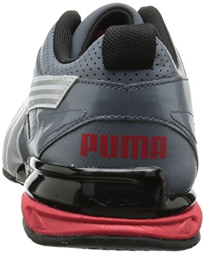 PUMA Mens Tazon 5 Cross-Training Shoe Turbulence/Puma Silver/Red 3Gdq2