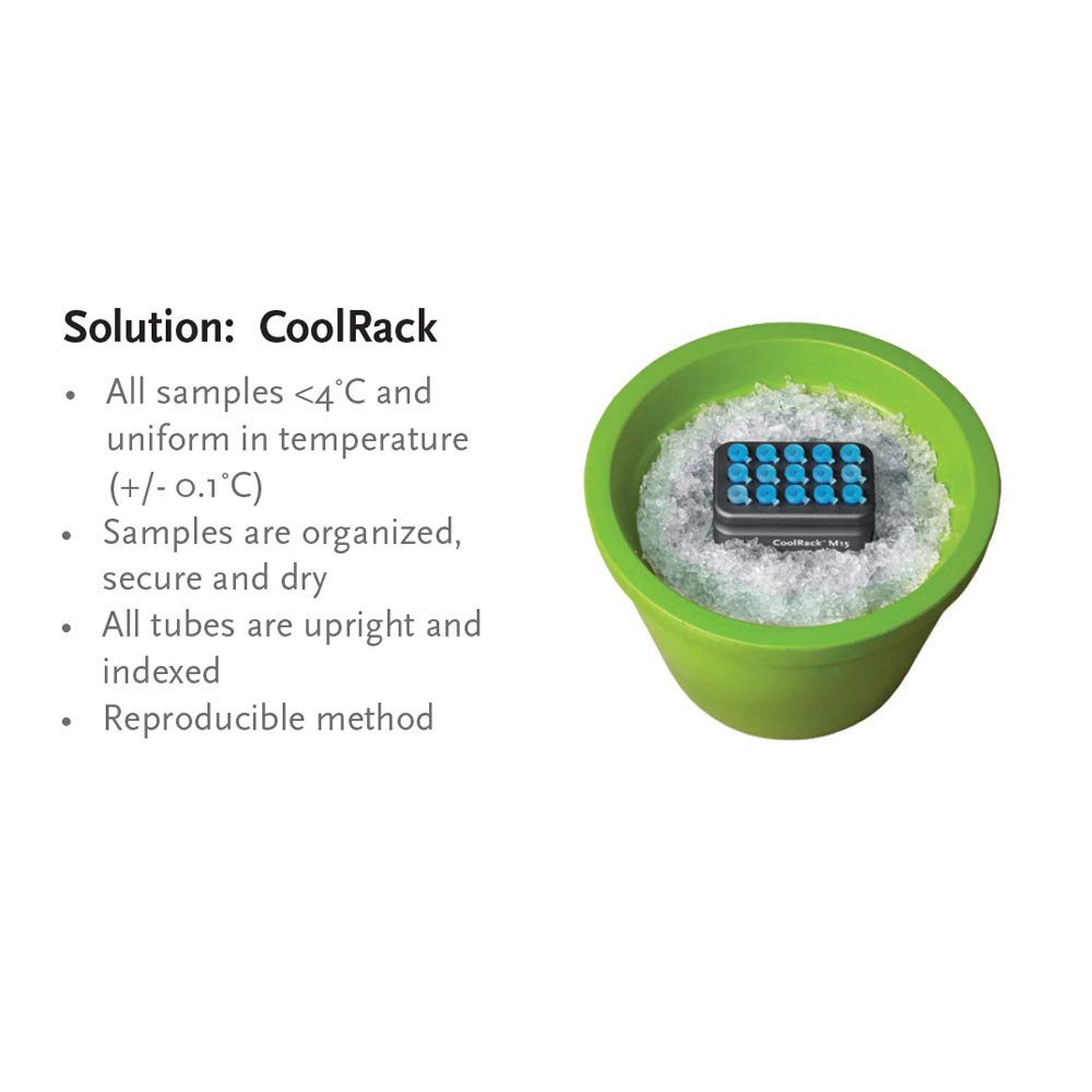 Biocision BCS-529 CoolRack XT PCR96 Tube Holder for 12 Strip Wells by BioCision (Image #3)