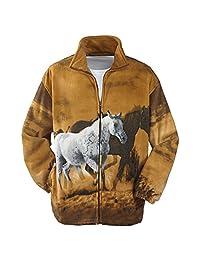TrailCrest Men's Active R'lixio Animal Print Jacket