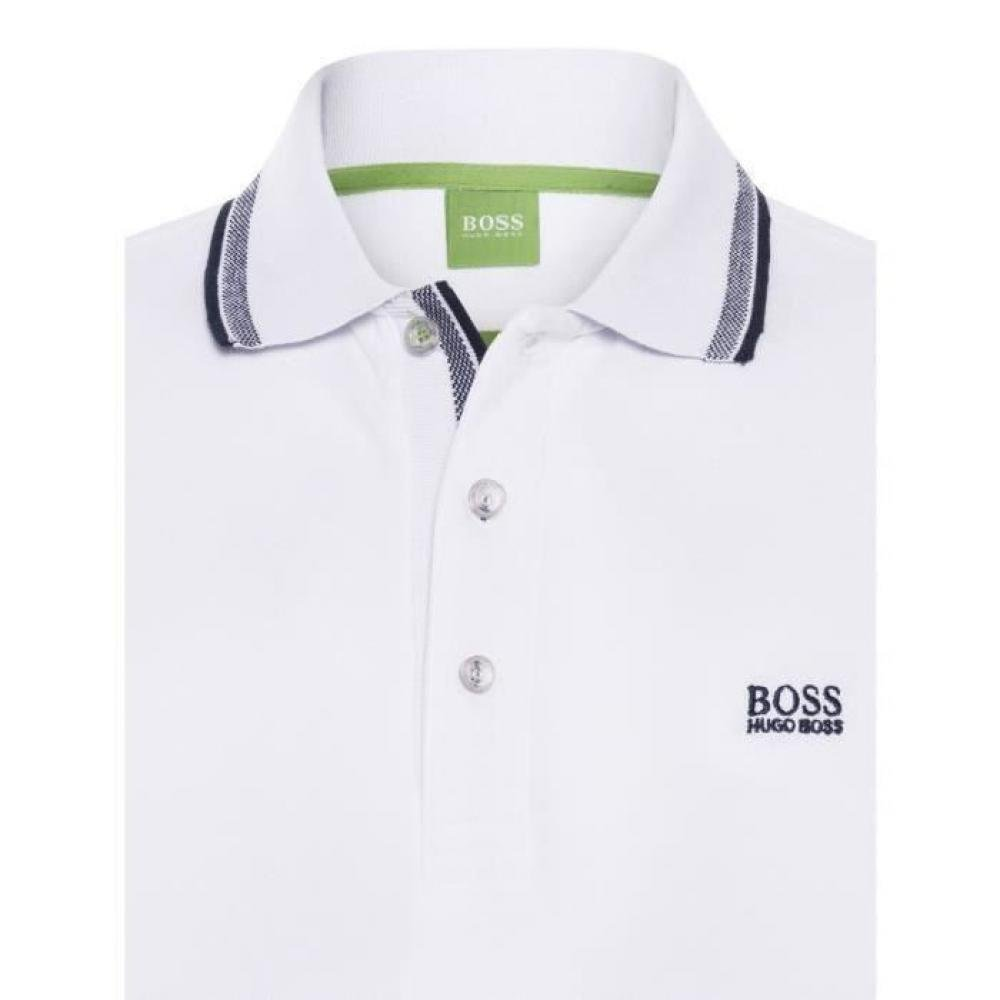 Hugo Boss Polo Manches Longues Blanc Homme XXL: Amazon.es: Ropa y ...