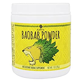 Alaffia, Superfood Baobab Powder, 7 Ounce 1 Alaffia - Baobab Powder - 7 Oz. (198 G) Alaffia Baobab Powder Is Made Through Traditional Methods And Used In Its Raw Form And Is�an Excellent Source Of Vi