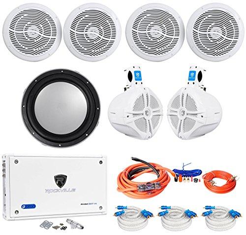 4 rmc80w marine speakers 8