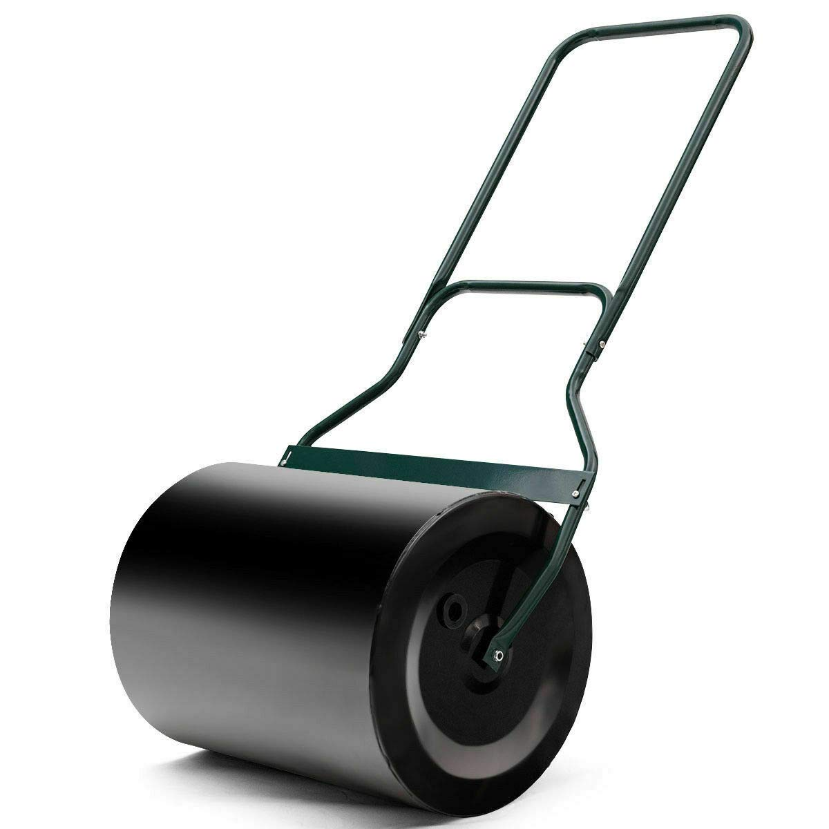 NanaPluz Tow Lawn Garden Roller Poly Push 16''x 19.5'' with Ebook by NanaPluz
