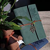 Leather Writing Journal Notebook, MALEDEN Classic