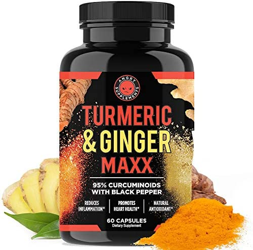 Angry Supplements Turmeric Curcumin Ginger Maxx