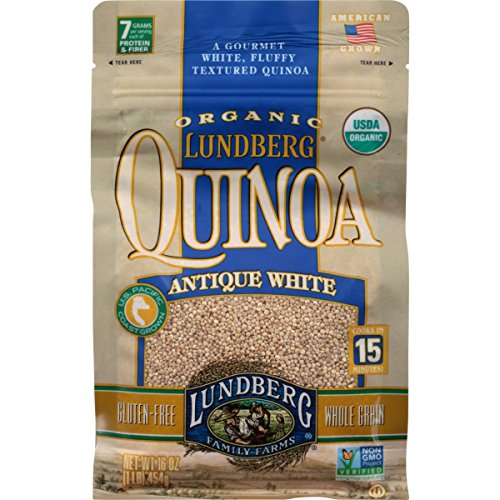 Rice Antique - Lundberg Family Farms Organic Quinoa, Antique White, 16 Ounce
