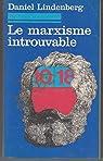Le marxisme introuvable par Lindenberg