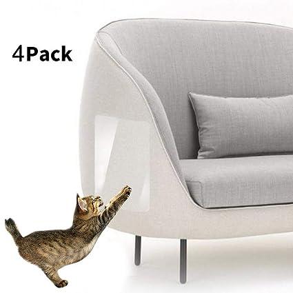 Perro Pequeño Logobeing 4 Piezas Gato Mascota Scratch Guard ...
