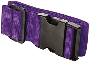 Travel Smart by Conair  Luggage Strap Suitcase Belt Travel Accessories, Purple