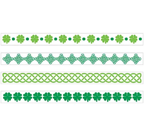 Amscan St. Patrick's Day Tattoo Bracelets, 8 Ct. | Party Accessory