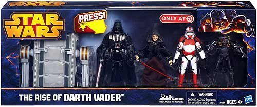 Star Wars 2013 Exclusive Action Figure 4-Pack Rise of Darth Vader