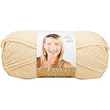 Lion Brand Yarn 860-123I Vanna's Choice Yarn, Beige (170 yd - 156 m)