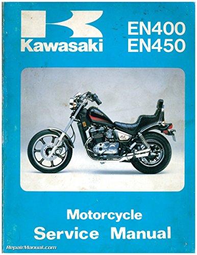 U99924-1056-04 Used 1985-1990 Kawasaki EN400 EN450 EN500 EX500 Motorcycle Service Manual (Kawasaki En500 Manual)