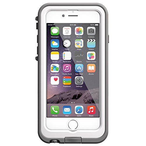 LifeProof FRE POWER iPhone 6 ONLY (4.7'' Version) Waterproof Battery Case - Retail Packaging -  (BRIGHT WHITE/COOL GREY) (Discontinued by Manufacturer) by LifeProof (Image #2)