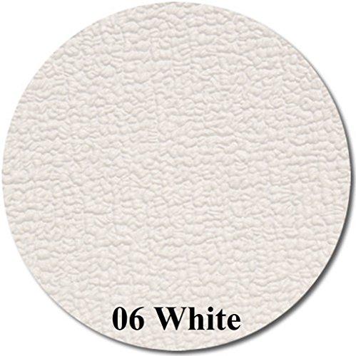 MariDeck Marine Vinyl Flooring - 6' Wide - 34 mil - 7 Colors (White, 6x15) (Marine Flooring Vinyl)