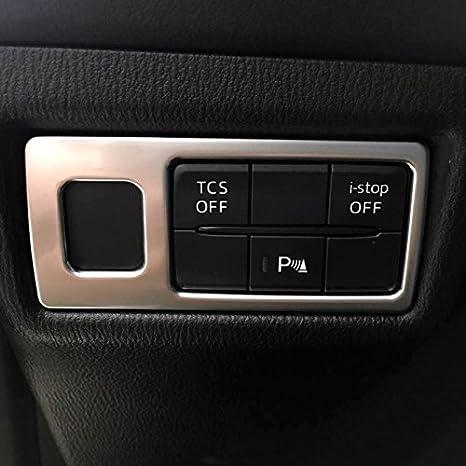 ABS mat Phare /à lint/érieur Garniture d/écorative Coque 1 pcs pour Accessoire de voiture MZX5