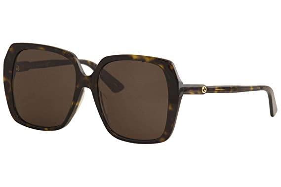 Amazon.com: Gucci GG0533SA 002 Havana GG0533SA - Gafas de ...