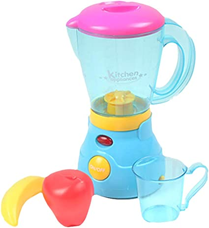 Play At Home Kitchen Blender Pretend Play Battery Operated Toy Kids Appliances