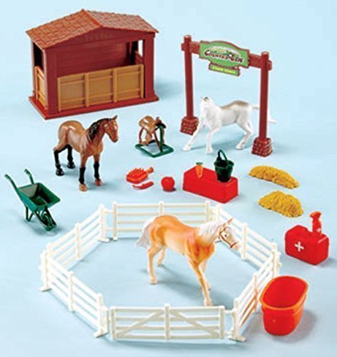 Country Life Playsets - Horses