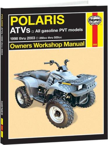 Polaris Ranger Service Manual - Haynes Polaris ATVs 250 to 500cc Manual (1998-2007)