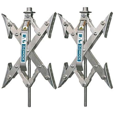 X-Chock Wheel Stabilizer Pair One Handle 28012