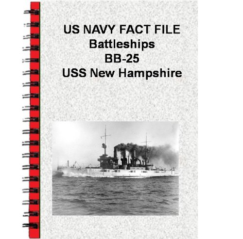 US NAVY FACT FILE Battleships BB-25 USS New ()