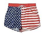 OMONSIM Women Sexy Quick Dry Floral Boardshort Hot Pants Swimming Trunks Tropical Volley Beach Shorts (Medium, XXX)