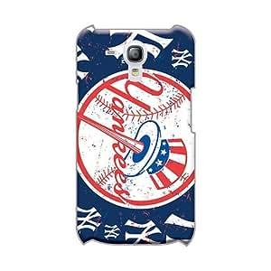 AlissaDubois Samsung Galaxy S3 Mini High Quality Hard Phone Cases Custom Realistic New York Yankees Pattern [CRb29517FjMC]
