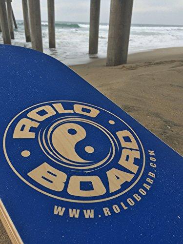 Rolo Balance Board Ocean Blue - Original Training Package by Rolo Board (Image #3)