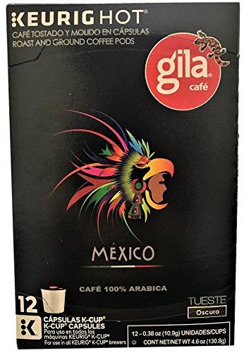 Café Gila Mexico Blend Coffee Single Serve Pods, 12 Count Box (48 Pods): Amazon.com: Grocery & Gourmet Food