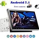 Front and Back Camera Included!New Android Car Stereo 7.1 With HD 1024600 Multi-Touch Screen Bluetooth Autoradio Support DVD CD Player USB/SD WIFI Internet 3G/4G OBD Radio FM/AM RDS Receiver