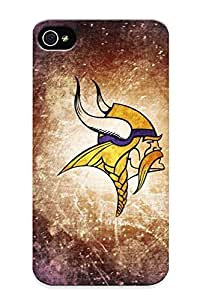 Marvelouscases Durable Defender Case For Iphone 4/4s Tpu Cover(minnesota Vikings Nfl Football) Best Gift Choice