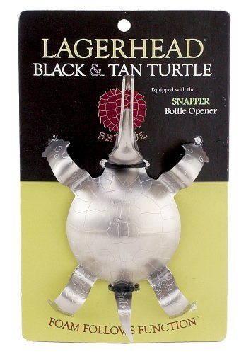 - Brutul 1011 Black And Tan Turtle Beer Layering Tool, Stainless Steel
