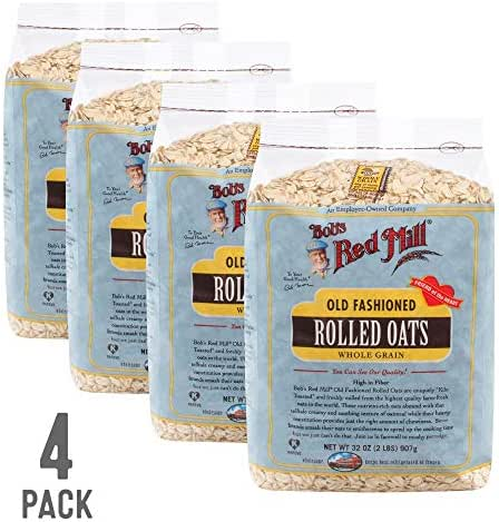 Oatmeal: Bob's Red Mill Old Fashioned Rolled Oats