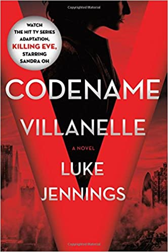 Image result for codename villanelle book cover