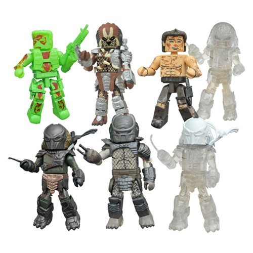 Predator Minimates Series 3 Case
