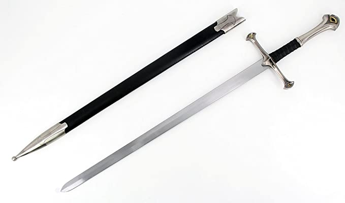 Vulcan Gear Medieval Middle Ages Sword with Matching Scabbard - Choose Your  Style