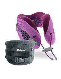 Cabeau Evolution Cool Travel Neck Pillow, Cosmos, Purple