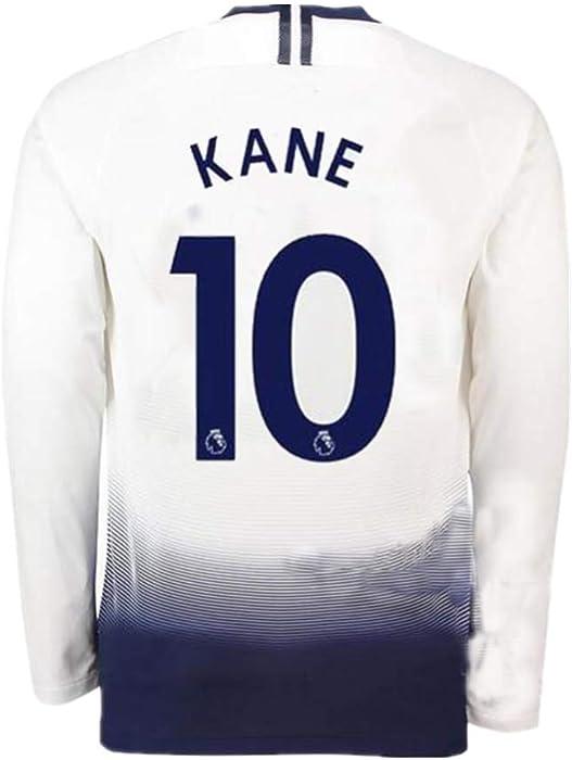 897c26acb32 18/19 Season Tottenham Hotspur #10 Kane Home Mens Long Sleeve Soccer Jersey  Color