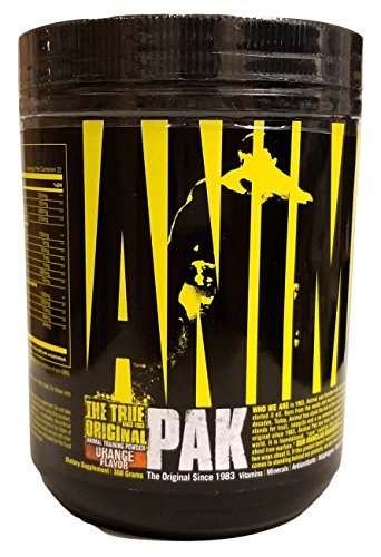 Universal Nutrition Animal Pak Powder, Orange, 22 Servings (388 Grams) by Universal -