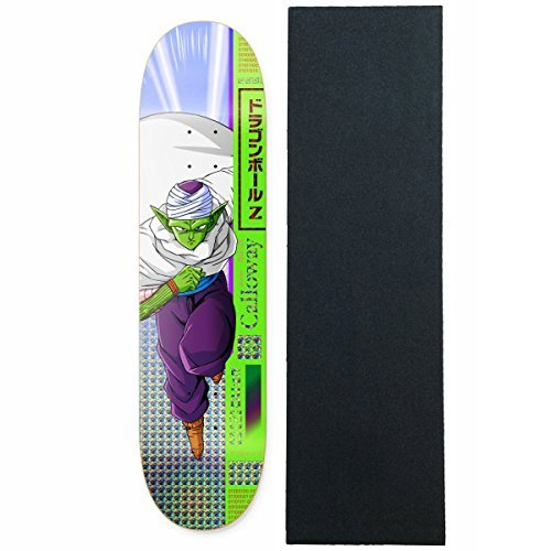 Primitive Dragon Ball Z Calloway Piccolo Skateboard Deck 8.0'' with Grip by Primitive