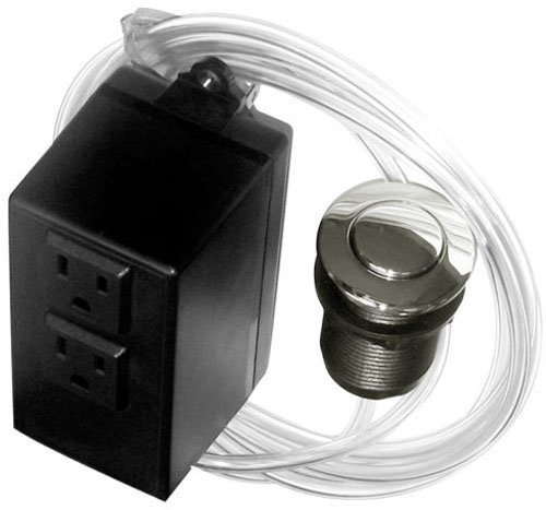 westbrass-asb-2-07-disposal-air-switch-and-dual-outlet-control-box-satin-nickel