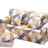 Beautylife88 Stretch Elastic Fabric Sofa Cover Couch Protector Slipcover 3Seat#1