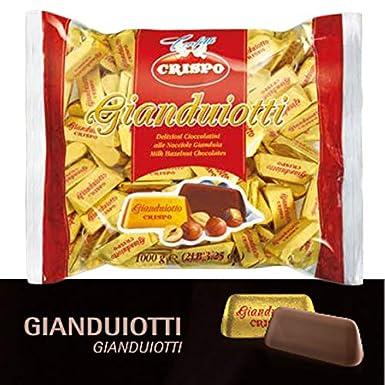 Bombon Gianduiotti clásico con crema de avellana 1kg: Amazon.es ...