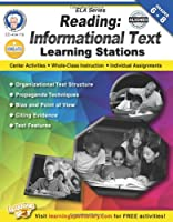 Reading, Grades 6 - 8: Informational Text Learning Stations (English Language Arts)