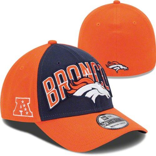 83503e330 New Era Denver Broncos 2013 Draft 39THIRTY Stretch Fit NFL Cap   Amazon.co.uk  Sports   Outdoors